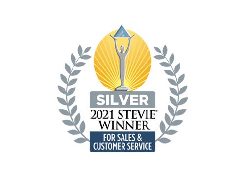 2021 Stevie Winner Silver